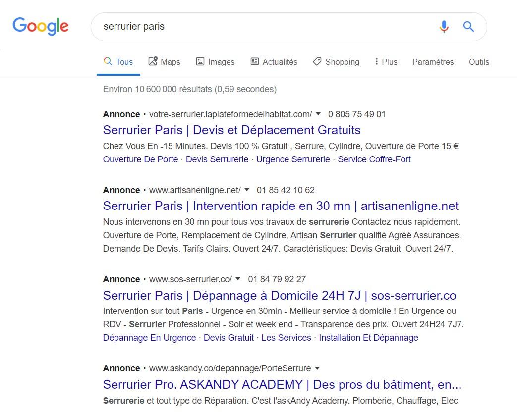 Pub Google Adwords